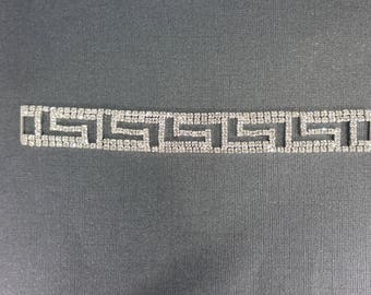 Aztec theme  Crystal connector for bikini or craft