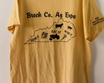 Vintage T-Shirt Breck Co. AG Expo, Men's Small or Women's Medium T-Shirt