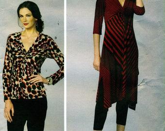 Vogue 1477 aujourd'hui FIT de pull tunique Top Sandra Betzina © 2015 anglais et Français