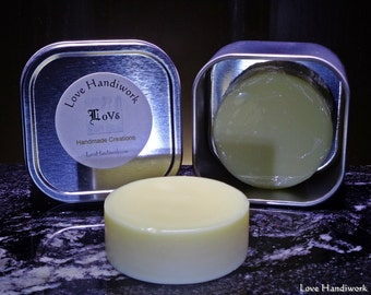 Lotion Bar | Unscented Beeswax - All Natural - Handmade - Migraine Friendly