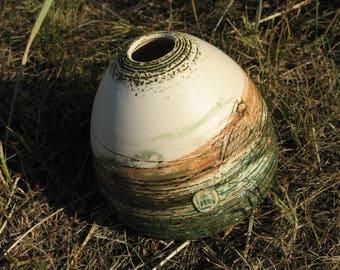 ceramic vase wheel thrown vase pottery vase bowl ceramic flower vase stoneware vase handmade vase clay flower vase pottery vase texture vase