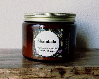 Shambala 16 oz Soy Candle