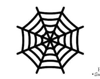 Web Spider halloween Thermo flex pattern
