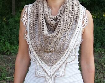 Crochet pattern shawl, woman triangle shawl, crochet lace shawl, women crochet wrap, Sunkissed shawl , DIY, PDF pattern