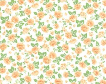 Sew & Sew - Roses Orange Fizz Cream by Chloe's Closet from Moda