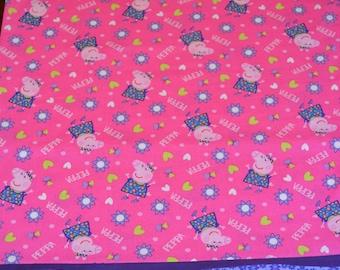 Peppa Pig Pillowcase, Full-Sized Pillowcase