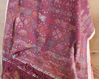 Vintage Ulos Batak, Sumatran textiles