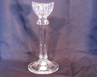 Elegant Crystal Candle Holder Neiman Marcus