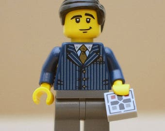 Alan Turing / inventor of the Turing machine - exclusive minifigure