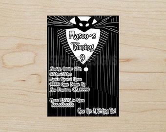 Nightmare Before Christmas Party Invitations, Nightmare Before Christmas Birthday Party, Nightmare Before Christmas Birthday, Jack Skellingt