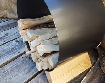 Kindling Holder   Firewood Holder   Firewood   Rustic Chic   Kindling   Metal   Fire   Wood Stove   Wood   Cabin Chic   Cabin   Log Storage