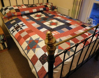NEW  Country style patchwork quilt