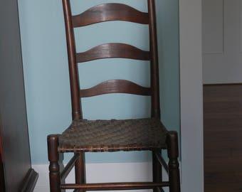 Ladderback Chairs Etsy