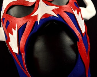 RENCOR Adult Mask Mexican Wrestling Mask Lucha Libre Luchador Costume Wrestler