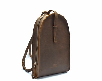leather backpack, school backpack, leather bag, leather rucksack, leather backpack mens, womens backpack, brown backpack, backpack