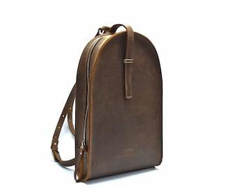 leather backpack, school backpack, leather bag, leather rucksack, leather backpack mens, womens backpack, brown backpack, backpack
