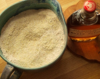 Vermont Maple Syrup and Fresh Ground 5-Grain Mix