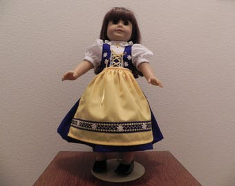 Swedish Doll Dress