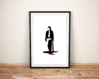 No Country for Old Men Movie Poster, Movie Print, Film Print, Print, Film Poster
