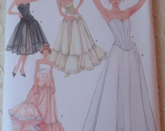 Simplicity 5006 Sewing Pattern Historical Lingerie Corset Underskirt Petticoat Womens Size RR 14 - 20