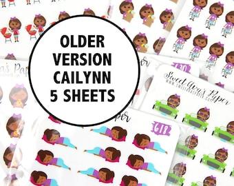 Planner Sticker Grab Bag - Cailynn Sticker Grab Bag - Planner Stickers -  Fits Most Planners - Mystery Planner Stickers - Grab Bag