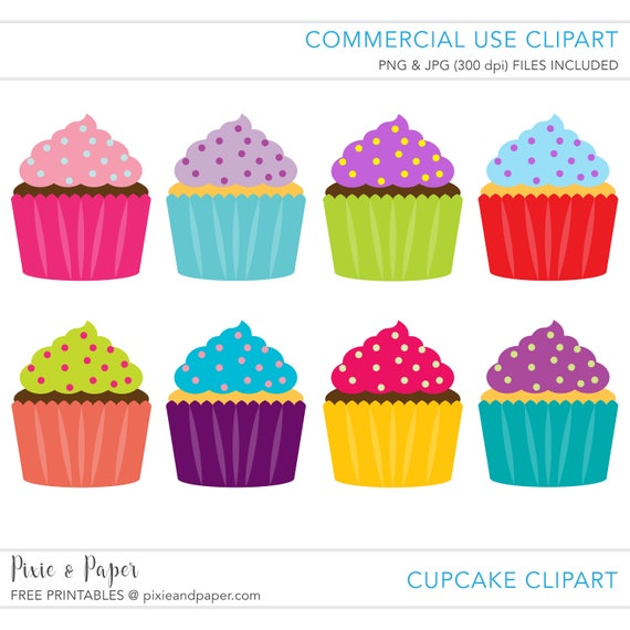 commercial use clipart commercial use clip art cupcake rh etsy com commercial use clipart for teachers commercial use clip art for teachers
