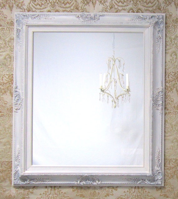shabby chic mirrors for sale baroque framed mirror decorative wall mirrors french country mirror mantel white mirrors - White Framed Mirrors