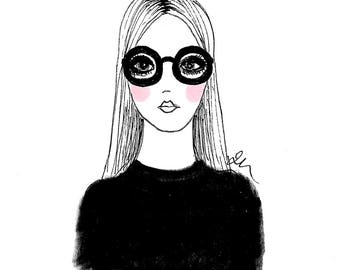 Fashion Illustration - GIRL 3