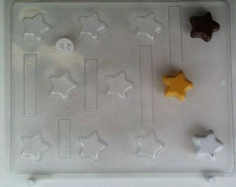 Star Mold Candy Chocolate Soap Ice Crayon Candle Fondant Baking Supplies Jenuine Crafts