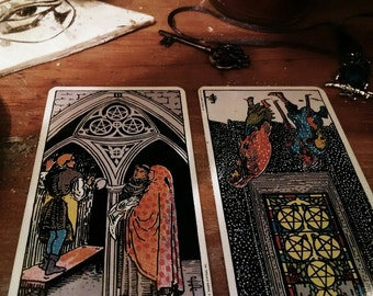Do This/Don't Do That Advice Spread Tarot Card What to do or Not to do Reading - 2 Cards