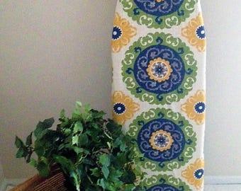 Custom Ironing Board Cover Fun Pinwheel Designer Fabric