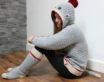Adult Sock Monkey Set