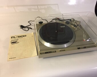 Pioneer PL-600 Fully-Automatic Turntable includes Original Box and User Manual