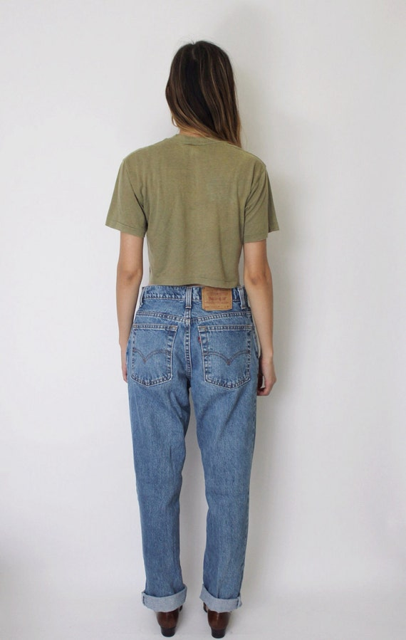 Denim Jeans 27 Denim Blue 5 Levi's Jeans Jeans Medium 505 High Waist Vintage 505 Denim Levis pxEqHCU