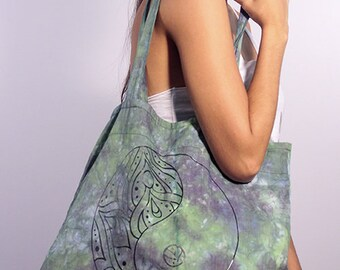 Tie dye bag for yoga