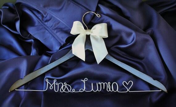 Personalized Custom Bridal Hanger future Mrs hanger brides