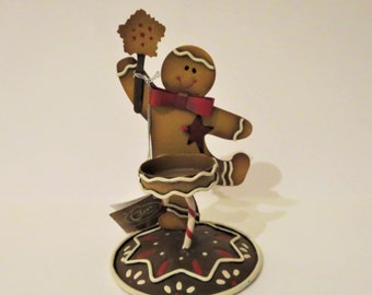Gingerbread Man Tea Lite Holder