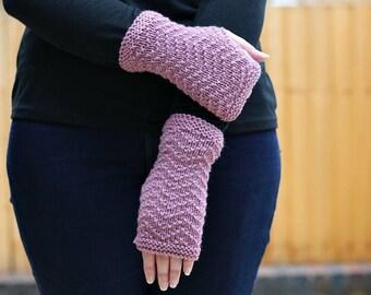 KNITTING PATTERN, Knit Mitt Pattern, Knit Fingerless Mitt Pattern, Fingerless Gloves Pattern, Fingerless Mitten Pattern, Glove Pattern,