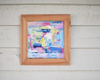 Come together - abstract painting