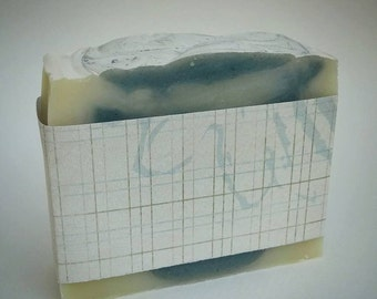 Spearmint Soap, Vegan Soap, Aromatherapy Soap, Natural Soap, Mint Soap, Essential Oil Soap, Handcrafted Soap, Kaolin Clay Soap, Artisan Soap