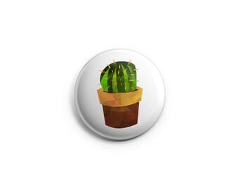 Cactus, Succulents, Cacti button - Pinback Button, Magnet, or Flair, cactus badges, cactus pinback buttons, succulent pins