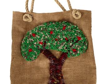 Proggy® Tree Bag Rag Rug Kit