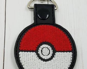 Throw to Catch Ball Key Chain/ Bag Tag