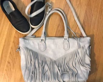 Moda Luxe Crossbody/handbag with leather fringe
