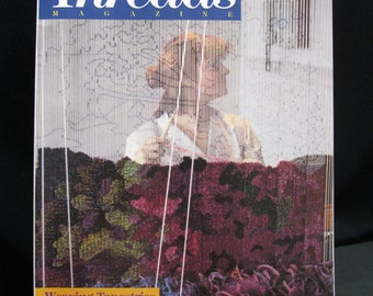 Premier issue, Threads magazine, number 1, October/November 1985, the magazine for people who love to sew, published The Taunton Press Inc.