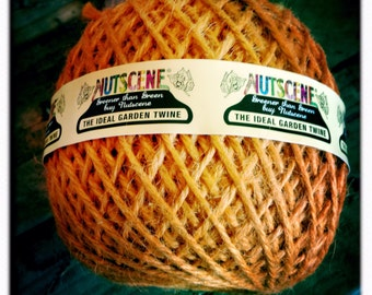 Nutscene Heritage Jute Twine Ball 130m (approx) - Terracotta
