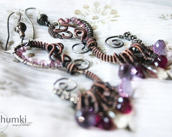 SALE 20% OFF Akriti /// Earrings by Jhumki luxe - designs by raindrops