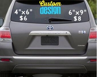 Custom Design DECAL