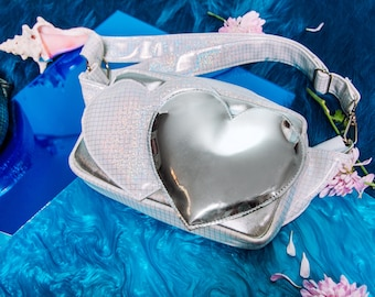 Two Hearts Bum Bag / fanny pack