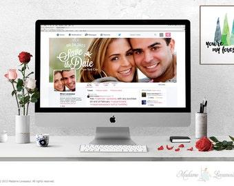 Wordpress header design Facebook cover Twitter Cover Design Website Header Blog Header wedding logo design branding mockup hero header logo